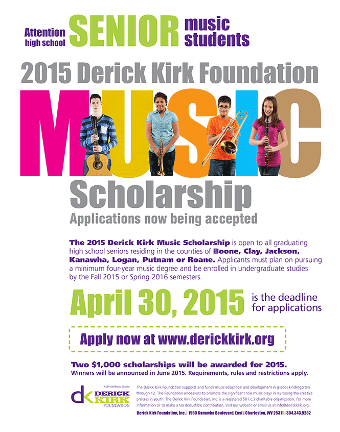 2015 scholarship poster